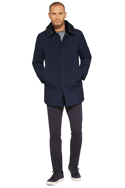 TRAVELLER RAINCOAT, Navy Blue, medium