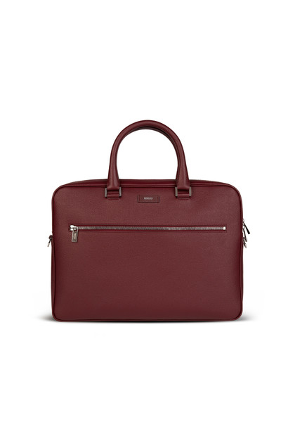 CAVIAR LEATHER SINGLE ZIP BRIEFCASE, , medium